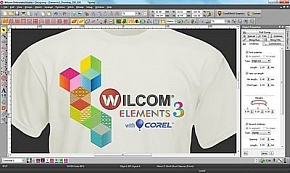 Фото Wilcom Embroidery Studio E3 Desining with CorelDraw Программное обеспечение для создания дизайнов вышивки